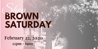 Shop Brown Saturday: Brown Beauty Pop Up!