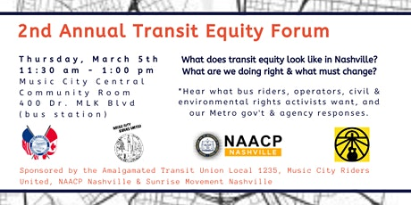 2nd Annual Transit Equity Forum tickets