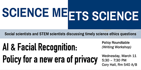 Science Meets Science - AI & Facial Recognition Policy Roundtable tickets