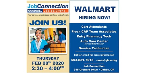 Hiring Event - Dallas - 2/20/20