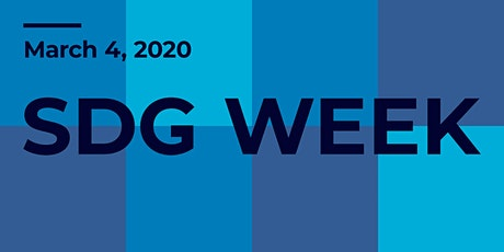 SDG Week: SDGs and the Greenest City tickets