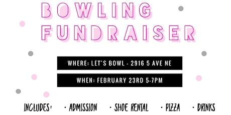 Bowling Fundraiser tickets