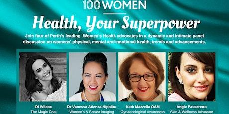 Health, Your Superpower tickets