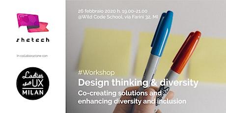 Workshop Design thinking & Diversity  biglietti
