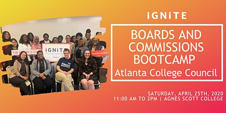 Boards and Commissions Bootcamp tickets