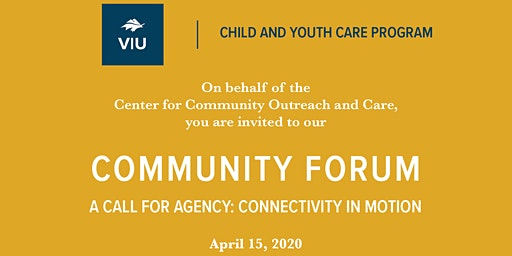 VIU Child and Youth Care Center for Community Outreach and Care Forum