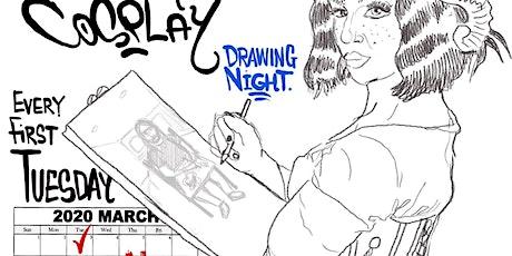 Calendar Babe Cosplay Drawing Night tickets