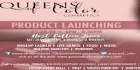 QUEENS OF COLOR COSMETICS LAUNCH EVENT tickets