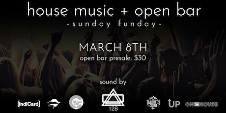 Open Bar + Sunday Funday tickets