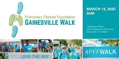 Pulmonary Fibrosis Gainesville Walk 2020