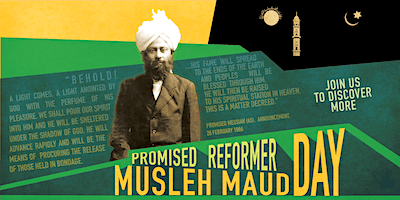 Promised Reformer (Musleh Maud) Day