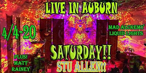 STU ALLEN & MARS HOTEL 4/4-20! + Matt Rainey &  Mad Alchemy Liquid Lights