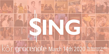 $ING: a gracenote and kôr fundraiser tickets