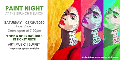 Paint Night At The Brunch N Lunch