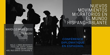 Nuevos movimientos migratorios en el mundo hispanohablante tickets