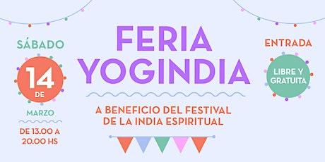 Feria Yogindia - 14 de marzo 2020 entradas