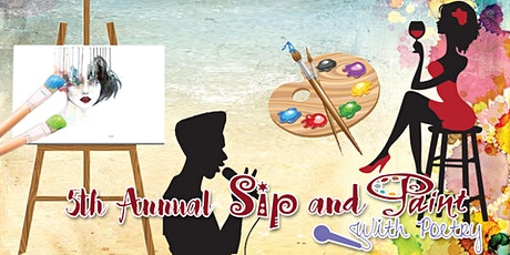 5th Annual Sip And Paint With Poetry tickets