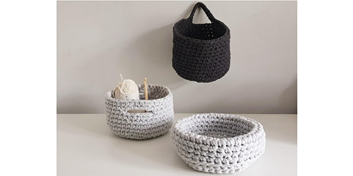 Learn to Crochet at John Lewis Bluewater - Crochet a basket - Beginners