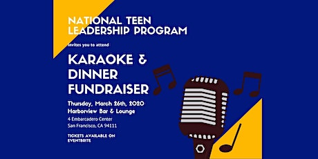 Karaoke and Dinner Fundraiser at Harborview tickets