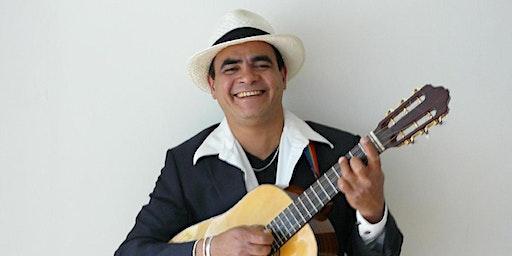 ZANG UIT CUBA met Pedro Luis Pardo (CU) -contrabajo, tres en zang.