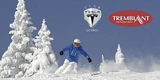 Journée Ski Club Tesla Québec - Mont-Tremblant