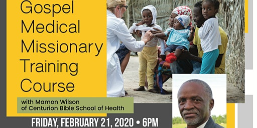Chemo-FREE  Natural Healing - Medical Missionary Training Workshop