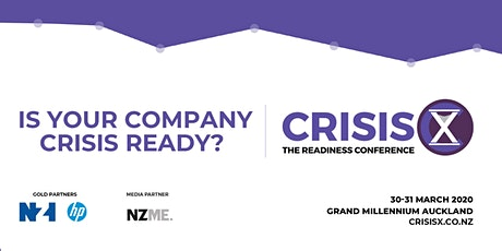 CrisisX: The Readiness Conference 2020 tickets