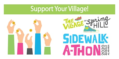 The Village of Spring Hill, Inc.'s 9th Annual Sidewalk-A-Thon  tickets