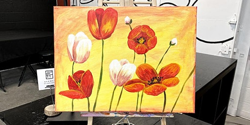 THINGS TO DO -PAINT & SIP EVENT: TULIPS