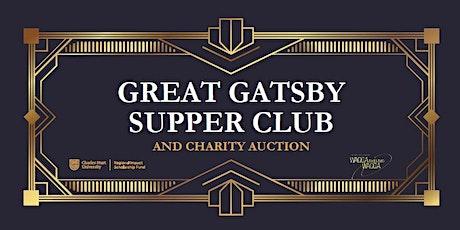 Charles Sturt University Foundation Great Gatsby Supper Club tickets