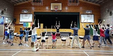 Japanese Taiko Drumming Workshop tickets