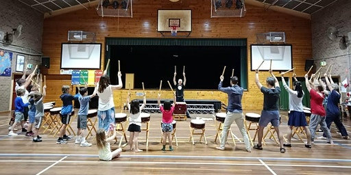 Japanese Taiko Drumming Workshop