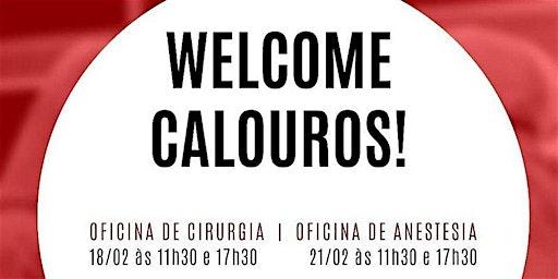WELCOME OFICINA DE ANESTESIA  | 11:30