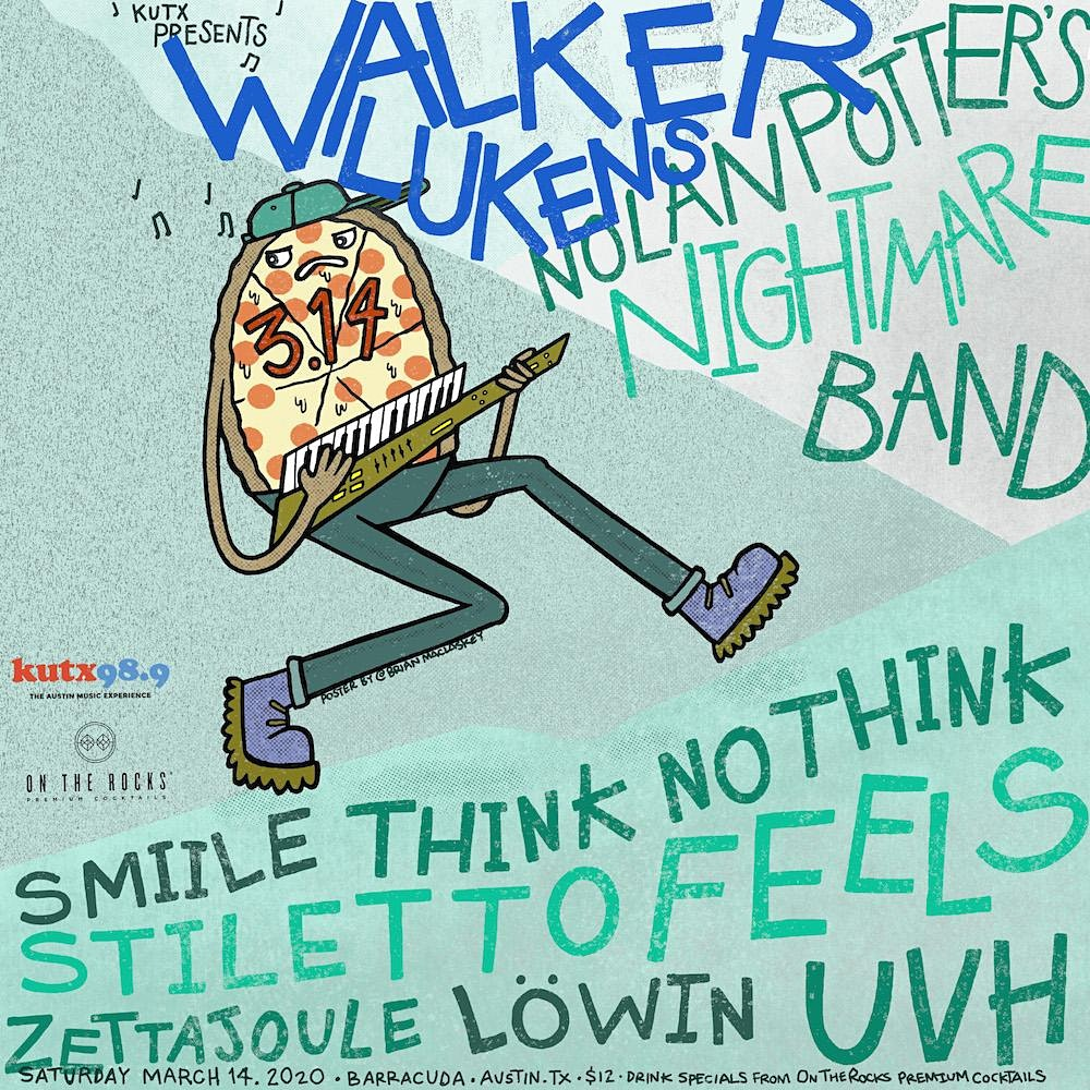 CANCELLED: Walker Lukens, Nolan Potter's Nightmare Band, SMiiLE, Löwin, Think No Think, Stiletto Feels, Zettajoule, UVH