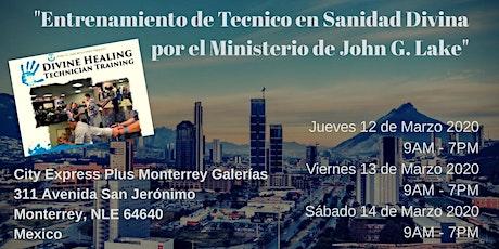 Técnico en Sanidad Divina - John G. Lake Ministries boletos