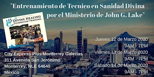Técnico en Sanidad Divina - John G. Lake Ministries