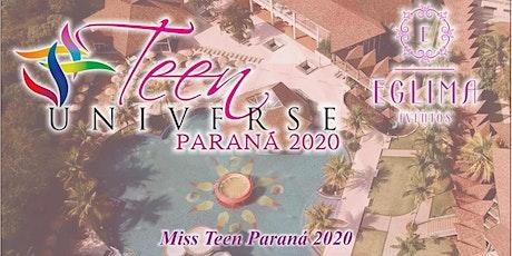 Miss Teen Paraná Universe 2020 entradas