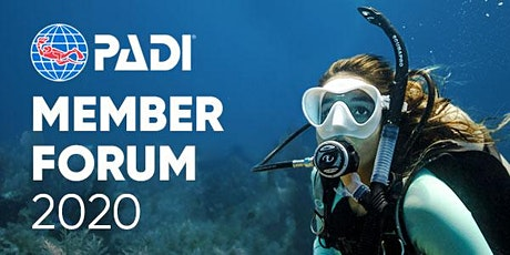 PADI Member Forum 2020 - Playa del Carmen, Mexico boletos