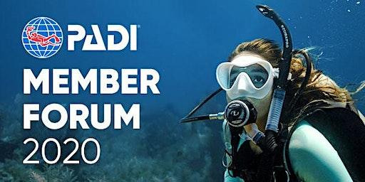 PADI Member Forum 2020 - Playa del Carmen, Mexico