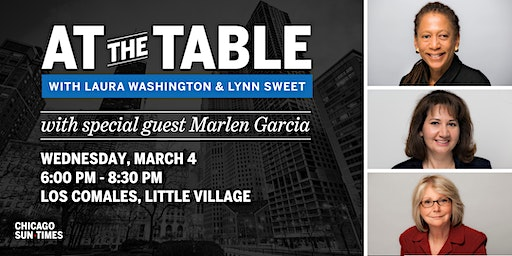 At the Table with Laura Washington and Lynn Sweet
