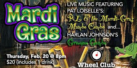 Mardi Gras Soirée: Pat Loiselle & the Mardi Gras Mambo Combo, Grouyan Gumbo tickets