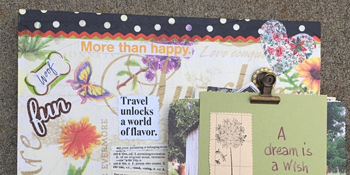 COMMUNITY FUNDRAISER Wishes of Spring Vision Board