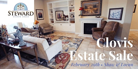Exclusive Pre-Sell of Beautiful Clovis Estate Sale tickets