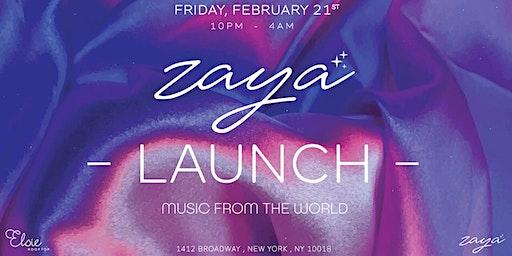 ZAYA Launch