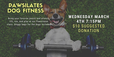 Dog Fitness: Pawsilates for dogs and their owners tickets