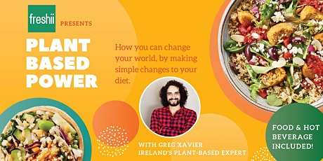 Freshii presents Plant Based Power with Greg Xavier tickets