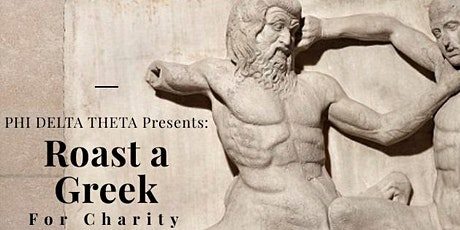 Roast a greek for charity tickets