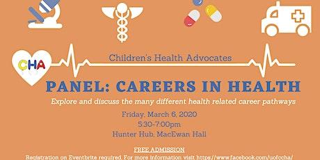Careers in Health Speaker Series tickets