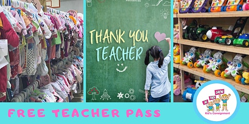 As They Grow Kids- Free Teacher Passes