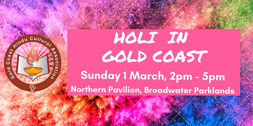 Holi - Festival of Colours in Gold Coast